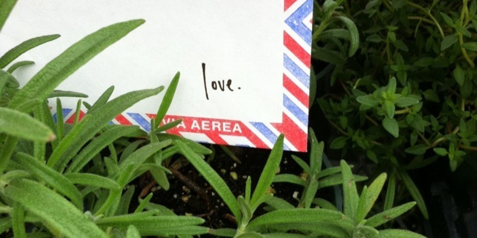 The Awesome Foundation : The Love Lettering Project