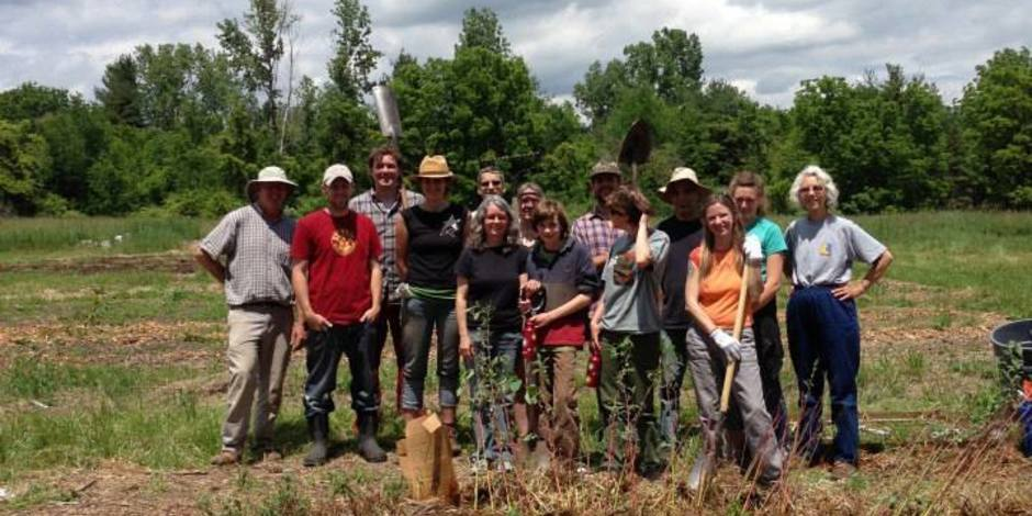 The Awesome Foundation Permaculture Tool Share