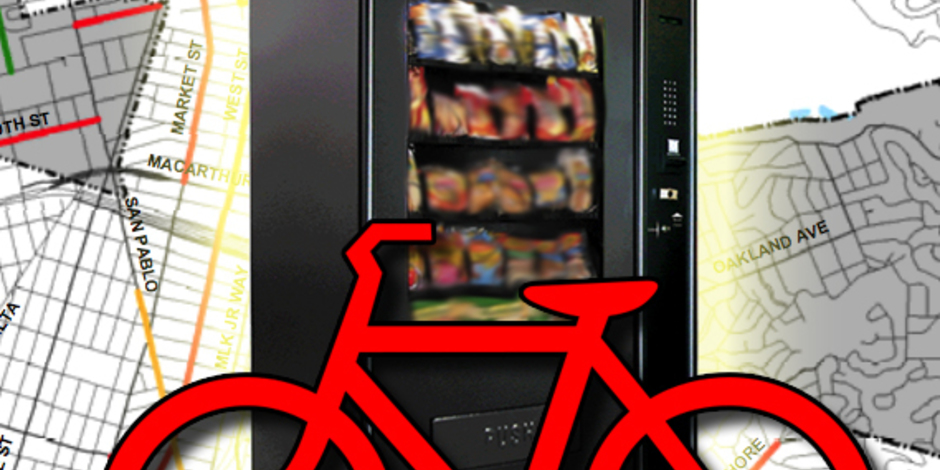 The Awesome Foundation 24 7 Bike Repair Vending Machine